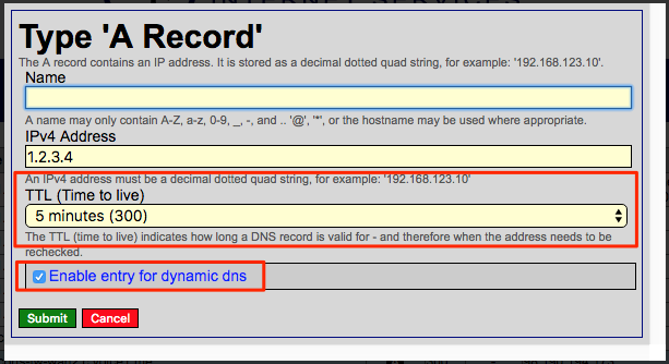 EdgeRouter Dynamic DNS with HE (Hurricane Electric) | VOICE1 LLC
